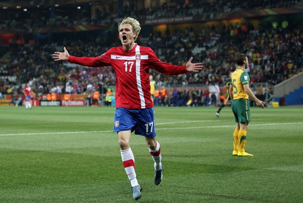 Milos Krasic on his way to Arsenal ~ Arsenal Transfer News | Rumours