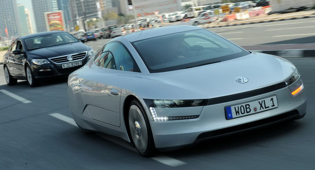 Charming New Volkswagen XL1   Introducing The Most Fuel Efficient Car In The World