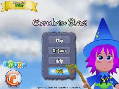 لعبة الألغاز وكشف السحر الشيقة Cerulean Skies
