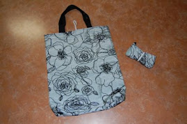 Roll Up Shopping Bag Tutorial