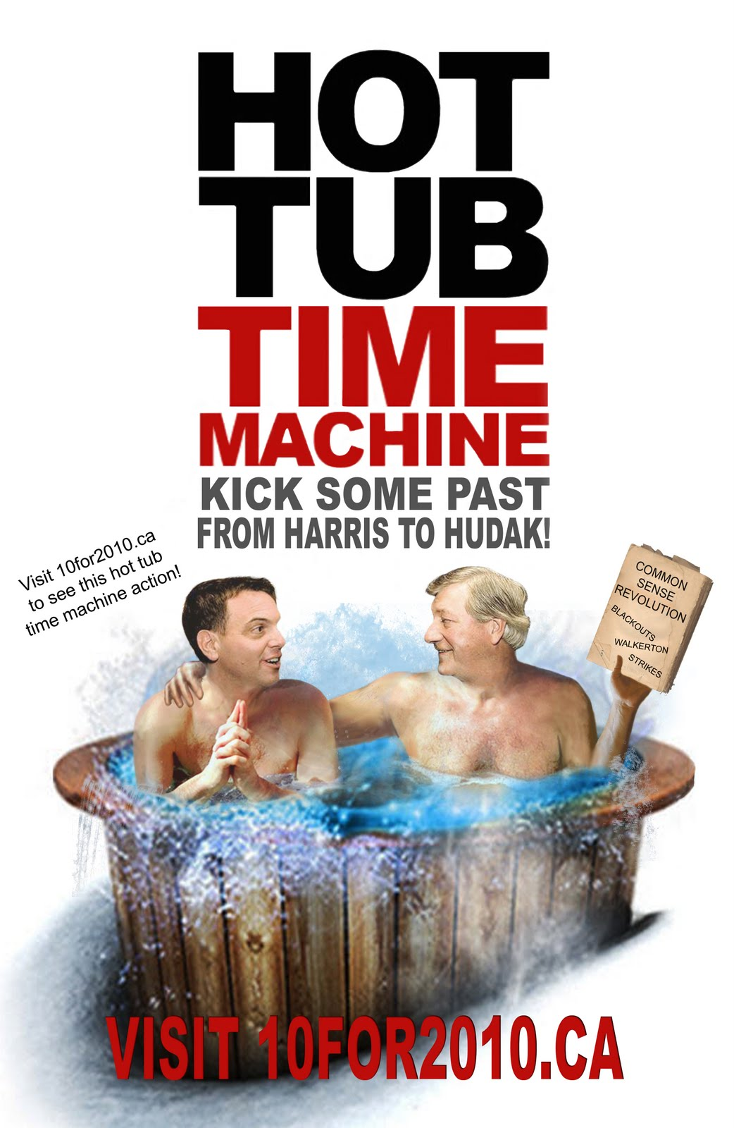 Hot tub time machine tory edition
