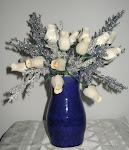 Vase w/Flowers