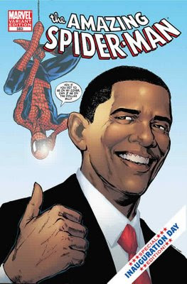 obama meets the amazing spiderman