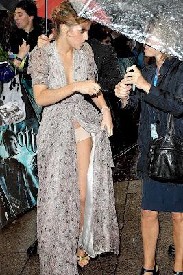 Emma Watson's wardrobe malfunction
