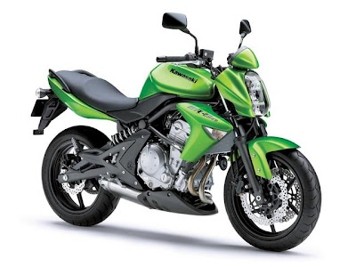 Kawasaki ER-6N Green Street Fighter-1