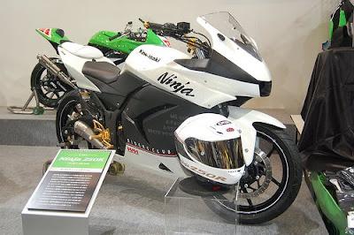 Kawasaki Ninja 250 CC White MotoGP Style 1
