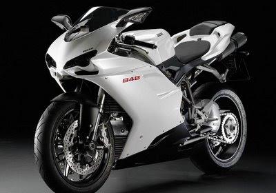 Ducati 848 Silver