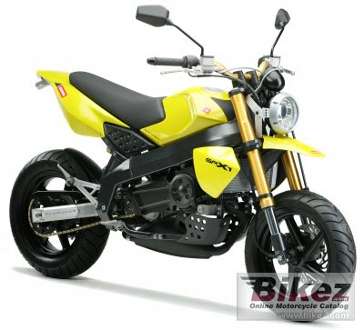 Derbi GPX-1 Yellow Street Fighter1