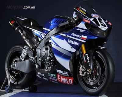 Yamaha R1 Superbike Spies 1