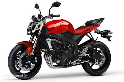 New Yamaha FZ6 Red Street Fighter 2010
