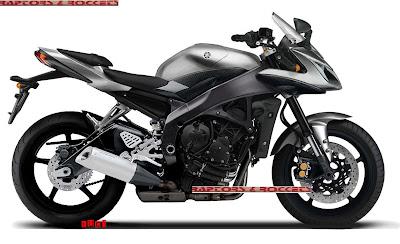 Yamaha FZ6S Silver Sport Bike