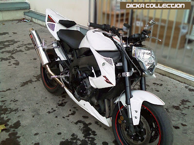 Yamaha R1 White Street Fighter Bodykit 2