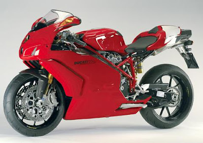 New Ducati 999 Red Sport Edition 2010