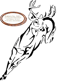 ALF'S CREATIVE WOOD DESIGN'S: deer running