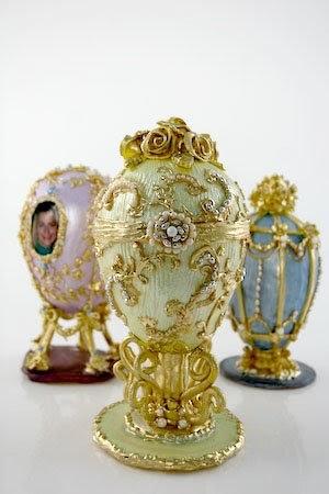 Faberge Egg Cake Topper