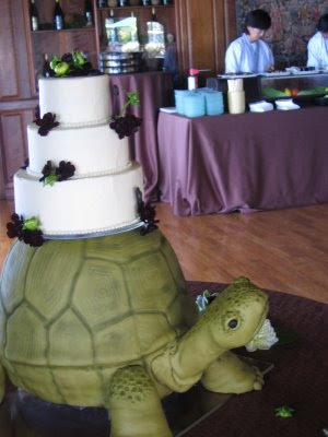 The Flirty Blog a Fun and Fearless Lifestyle Resource A Turtle Wedding Cake