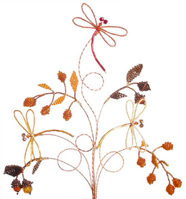 Lead me to creating things like this autumn inspired cake topper