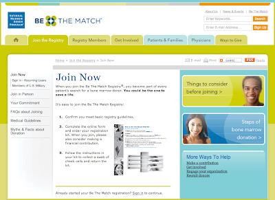 match registration page