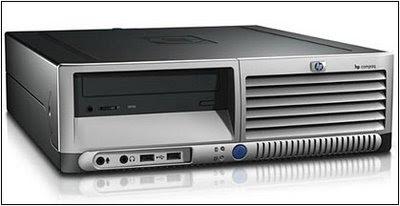 HP Compaq dc7100 HTPC