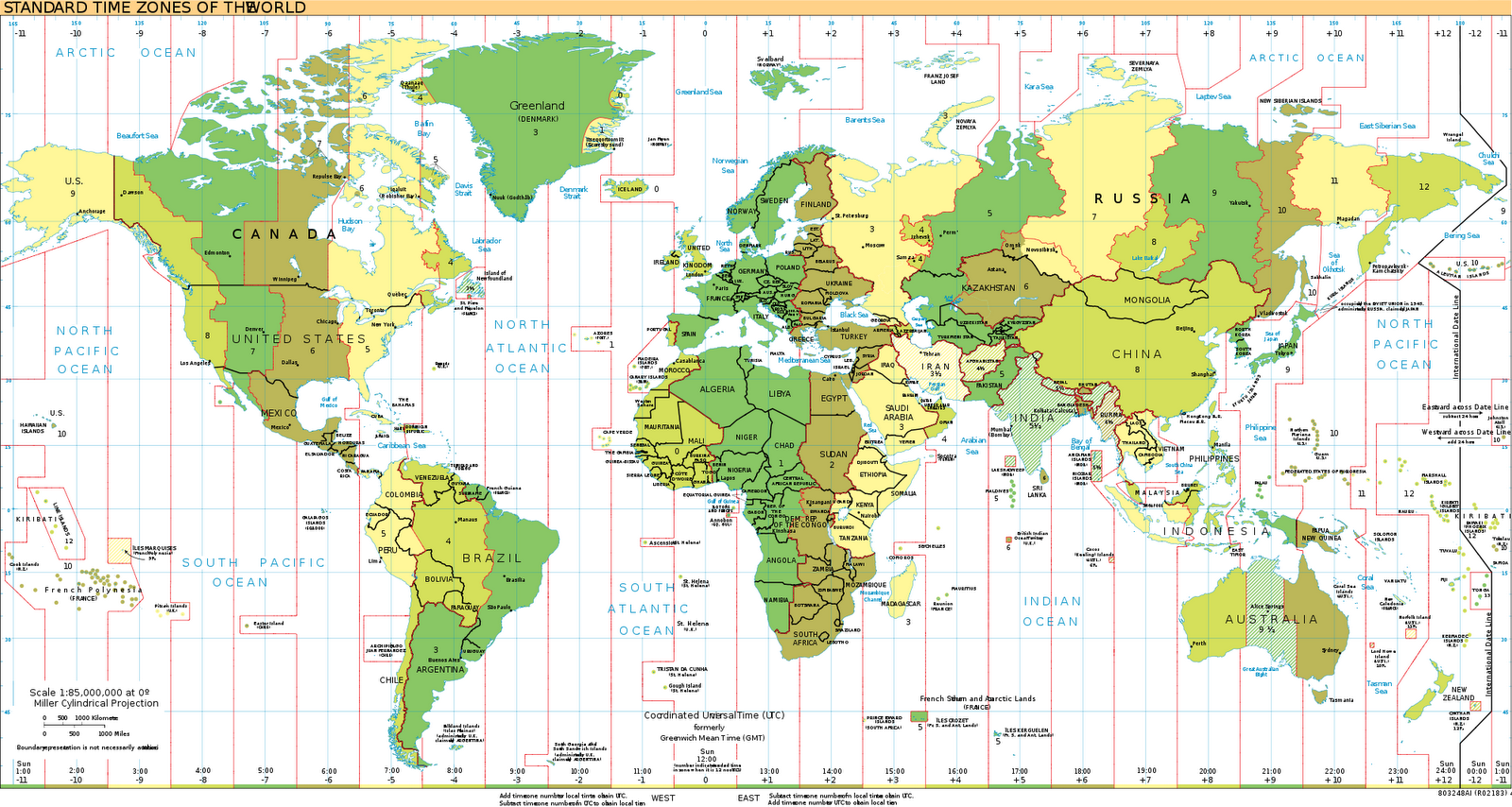 Usa Time Zones Map Map Of Mexican States Asu Tempe Campus Map - Usa maps time zones