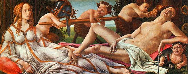 Marte e Vênus  de Sandro Botticelli
