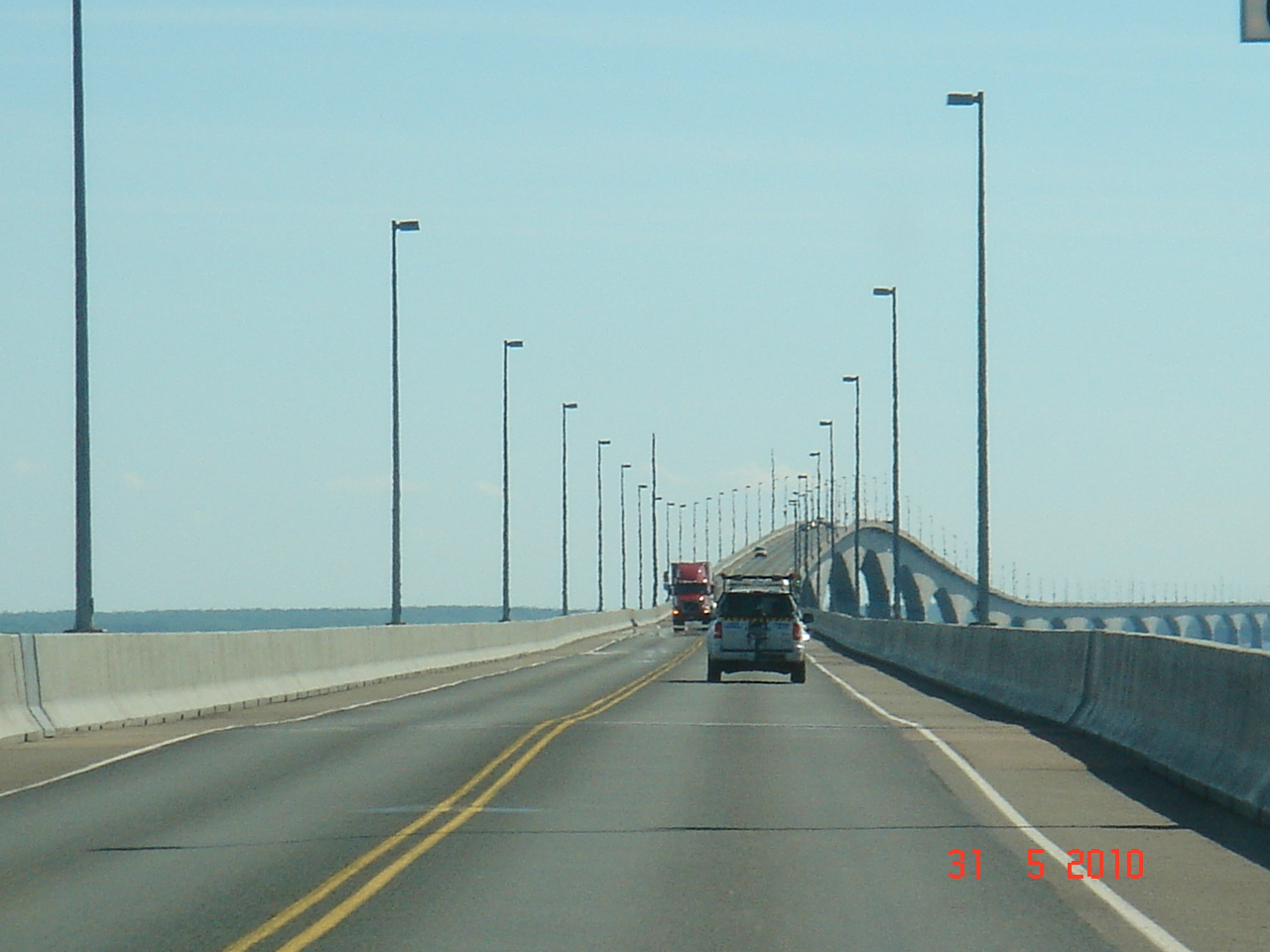 Longest Bridge In The World Over Water Of the bridge we stoppedLongest Bridge In The World Over Water