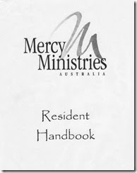 Mercy Ministries Program Handbook
