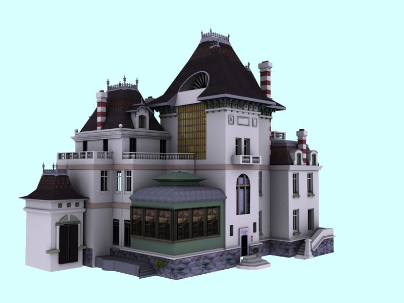Le ladruncoloblog mod lisation 3d 39 bis de la maison des for Modelisation maison 3d