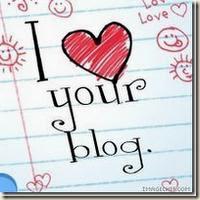 Olika sorters uppskattning jag fått för min blogg av andra bloggare! =)