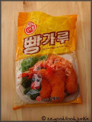 Les recettes de phaphan la chinoise Panko