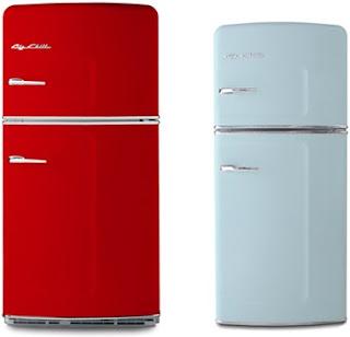 Frigoríficos Retro. Gosta da Smeg como frigorífico, mas não quer pagar um preço Smeg? Você deve verificar o retro Gorenje gama de frigorífico com estilo.