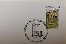 2008. Exposició filatèlica a Torroella de Montgrí