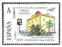 2009. 3r segell personalitzat