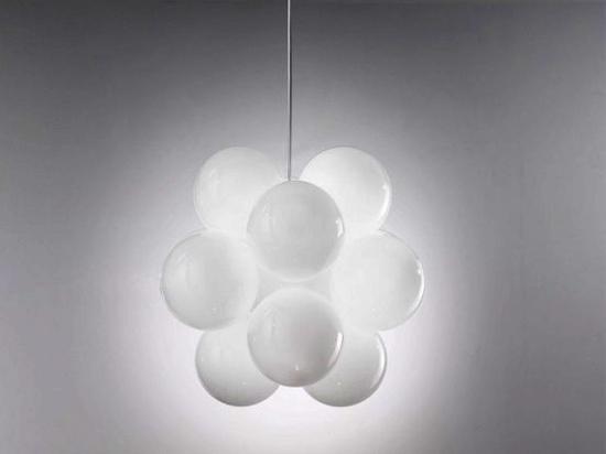 Home interior design elegant glass ceiling lamp u babol de majo
