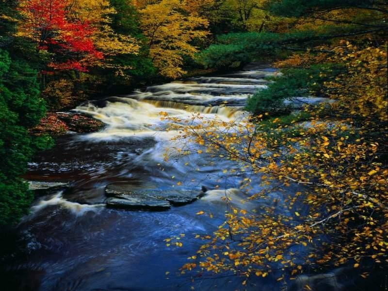 La vita è un fiume che scorre