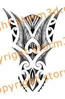 maori tatoo design symmetry flash lower arm