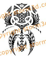 maori shoulder tattoo design