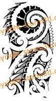 spiral maori shoulder tatoos
