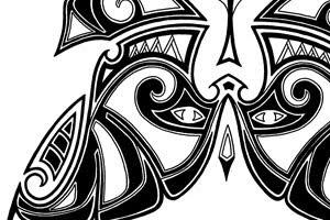 maori butterfly tattoos