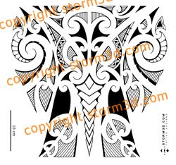 maori inspired tattoo designs and tribal tattoos images april 2010. Black Bedroom Furniture Sets. Home Design Ideas