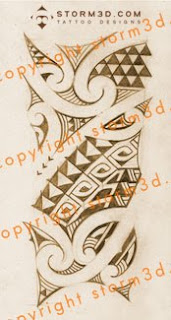 forearm tribal maori tattoo design