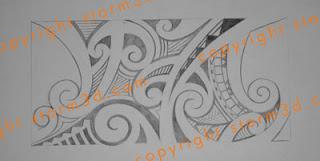 printable tattoo arm elbow designs tribal