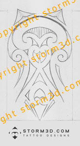 spine tattoo maori fern tatou images