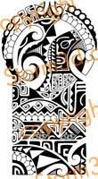shoulder tattoo 143 high resolution design for sale