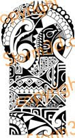 shoulder tattoo 143 high resolution design for sale