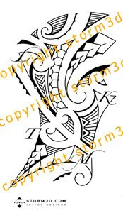 high resolution ribcage tattoos tribal style