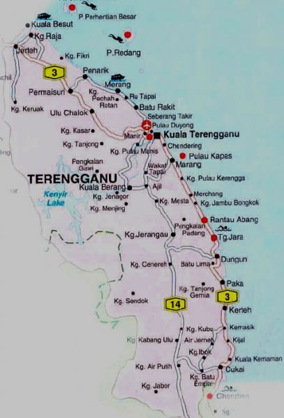 PETA TERENGGANU