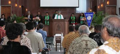 PELEMBAGAAN GPIB CAWANG BARU 31 Agustus 2008