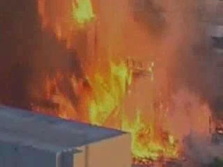 universal studios fire,1st june, 2008