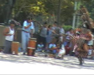 American Indian Dance, El Pueblo, Los Angeles